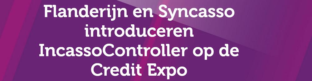 Flanderijn en Syncasso introduceren IncassoController op de Credit Expo